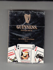 Guinness Poster Deck Playing Cards Featuring 12 Guinness Images (Sealed)