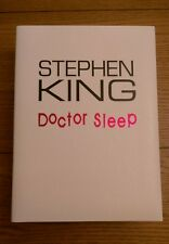 Doctor Sleep Stephen King SIGNED LIMITED EDITION NUMBERED TRAYCASED 1st/1st