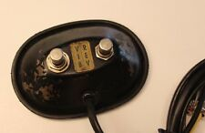 1960's Vintage Original Fender 2 Button Reverb/Tremolo Footswitch Blackface Amp
