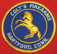 COLT FIREARMS FACTORY Rampant Colt Patch 3 1/2""