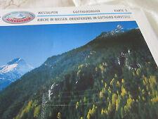 Alpenbahnen Westalpen K 5 Gotthardbahn Gurtnellen Wattingen Göschenen Karussell