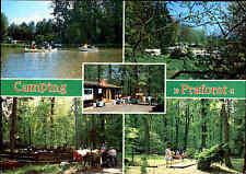 """6418 Hünfeld seitz-camping """"praforst"""" color más imagen-ak postal corriendo"""