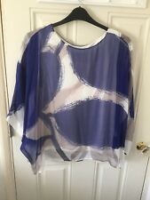 Phase Eight Silk Top - Size L