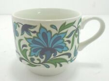 Mid Winter Spanish Garden ~ tea cups