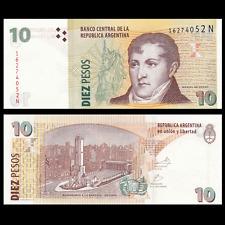 Argentina 10 Pesos, ND(2012), P-354, Series N, UNC