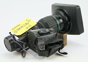 "Canon J9ax5.2B4 IAS SX12, 2/3"" B4 SD Broadcast Wide Angle Lens"