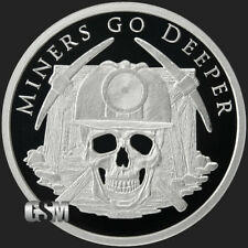 "2018 Silver Shield MINERS GO DEEPER Proof - #1 in ""Essential Silver "" Series"