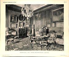 Appartement Paris Bureau-Salon par Navarre & Rousselot Architectes PLANCHE