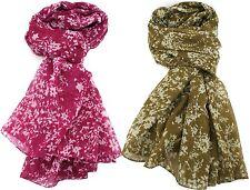 Zest Olivia Lightweight Floral Scarf Wrap