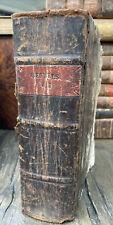 Gemeinnüzziges Wörterbuch, Oertel Eucharius 1826 Halbledereinband
