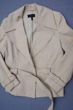 Escada Snap Button Blazer, Coat, Jacket With Belt Woman's Size 38