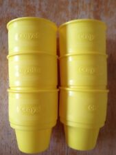 2007 Crayola 11 oz. Plastic Cups, Set of Six, Yellow ARONSON
