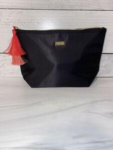 NEW Tarte BLACK Cosmetics Makeup Bag Pouch