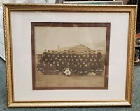 World War I United States Army Sepia Framed Regimental Photograph
