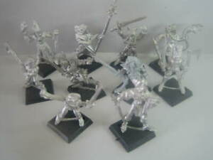 Wood Elves / 10 Figuren / GW , Citadel selten Warhammer