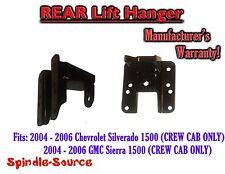 "2004 - 2006 Chevy Silverado GMC Sierra CREW CAB 1"" - 2"" Lift Hanger for Flip Kit"