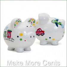Child to Cherish Train, Car and Airplane Piggy Bank - FREE SHIPPING