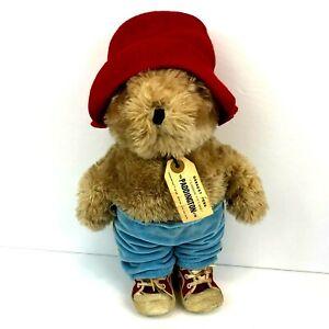 "Vintage Paddington Bear Eden Toy Plush Darkest Peru to London 1981 Sneakers 13"""