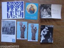 Lot images religieuses SECOURS CATHOLIQUE photo St Pere et  Cardinal Wyszyński