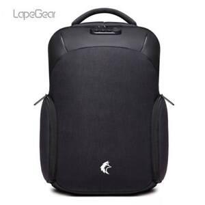 Men High Quality Anti-Theft Travel Backpack USB Shoulder Laptop School Bag