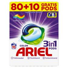 Ariel 3in1 Pods Color Waschmittel 27gr - 80+10 extra Waschladungen