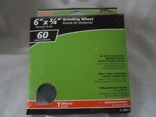 "Ali Industries Gator Grit, 6"" x 3/4"", Medium 60 Grit Grinding Wheel 6011"