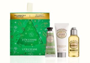 15%OFF L'Occitane Christmas Gift Almond Bauble Hand Cream Shower Oil Body Milk