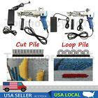 10000r/min Electric Loop/Cut Pile Carpet Tufting gun Weaving Flocking Machine US