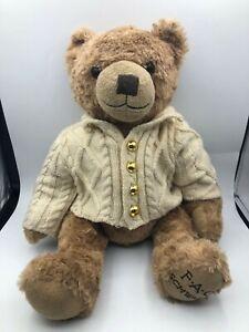 FAO Schwarz 2017 Merch Source Geoffrey Teddy Bear Plush Soft Stuffed Toy Animal