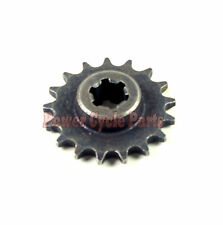 FRONT ENGINE SPROCKET PINION 17T TEETH 33CC 43CC 47CC 49CC MINI POCKET BIKE ATV