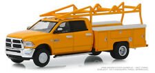 Greenlight Dodge Ram 3500 Dually Service Bed with Ladder Rack 2018 46020 C 1/64