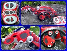 Raging Roaring Raptor Red Remote Control Dinosaur R/C - iloveRobots  Bossa Nova