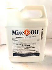 Mite-E-Oil Insecticide Miticide1 quart Petroleum Oil 90% Spider Mites pack of 2