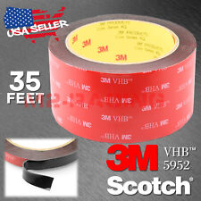 Genuine 3M VHB #5952 Double-Sided Mounting Foam Tape Automotive Car 50mm x 35FT