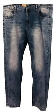 NEW Rok Slim Fit Jeans Mens Size 38 x 32 - Stonewashed Denim B1135
