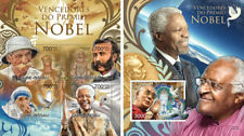 Premio Nobel Schweitzer Mandela Madre Teresa Dunant Guinea-Bissau MNH