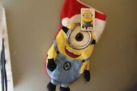 NEW Despicable Me Minion Stocking Christmas Universal Studio Kurt S. Adler