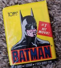 Topps 1989 Batman Trading Cards-30 Packs