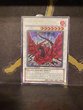Yugioh - Black Rose Dragon [CT05-EN003] Secret Rare Played