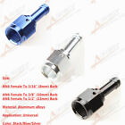 """AN6 AN8 Female To 5/16"""" 3/8"""" 1/2"""" Straight Hose Barb Adapter Aluminum"""