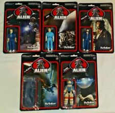 FUNKO REACTION action figure set 5 ALIEN Movie SERIES 1 Cult Classic ASH RIPLEY