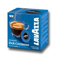 16 CIALDE CAPSULE CAFFE' LAVAZZA A MODO MIO MISCELA DEK CREMOSO 100 % ORIGINALI