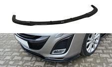 Cup Spoilerlippe schwarz für Mazda 3 MK2 Sport Bj. 09-11 Front Schwert Diffusor