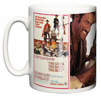 Clint Eastwood, Western Movie Poster Scene The Good Bad Ugly Coffee Tea Mug Gift