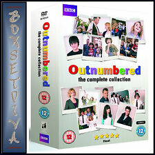 OUTNUMBERED-THE COMPLETE COLLECTION SERIES 1 2 3 4 & 5 **BRAND NEW DVD BOXSET **