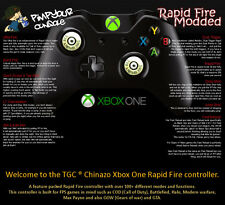 Xbox One/S Rapid Fire Billet Pouces Manette 100+ Modes COD Advanced Warfare BF4