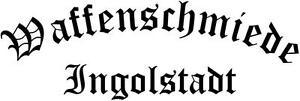 Waffenschmiede Ingolstadt Heckscheibenaufkleber in 60 X 20 cm !