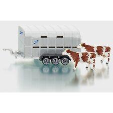 SIKU 2890 Trasporto animali + mucche scala 1/32