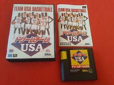Team USA Basketball EA Deportes Sega Megadrive Mega Drive Completo Jap Japan