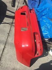 Porsche 968 Rear Bumper In Red